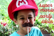 Super Mario Party Ideas / Cool ideas and inspirations for the ultimate Super Mario Bros party!