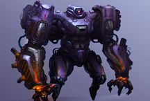 Mecha / Robots, armor, mechanized machines and more. / by Connor McCarter