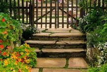 Stone patio/ path / by Athena Shore