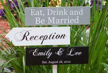 panneaux bois mariage