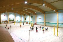 Indoor beach center