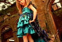 PEACOCK child dress / by Perfectly Peacocky