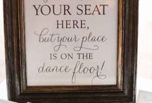 Wedding Dance Signs