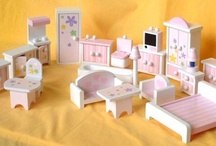 Doll house furniture / furniture for Ruby's dolls house