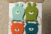 Cards -  Monsters and Aliens 1 (finished) / by Lisa Akell- Lee