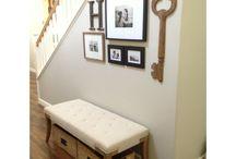 Hallway, Tables, Walls / by Courtney Watson