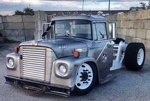 Slammed semi trucks / Cool stuff