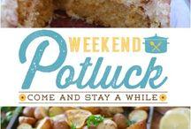 Weekend pot luck recipes