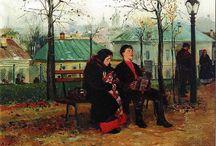 Русская живопись второй половины XIX века