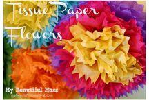 Цветочки ручками / Рукоделие