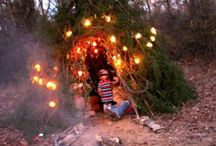 Outdoor Dens and activities / Family outdoor fun