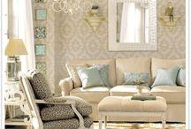 Living room / by Faith Hopwood