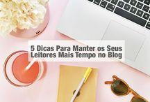 Blogging / Blogging tips, bloggers, blogueiras, dicas para blogueiras, tutoriais, blogs
