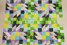 Grand Illusion Mystery Quilt / Progress on the Grand Illusion Mystery hosted by Bonnie Hunter at Quiltville.