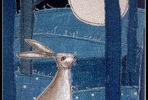 Sewing:- Freehand machine
