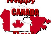 Red and White Pride! Canada Proud / by Kim Gallant