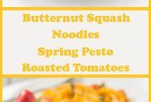 Recipes - Spiralizer Meals