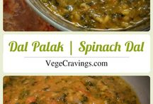Indian Main Course Meals / Collection of Indian Vegetarian Main Course Meals, Dals, Curries, Gravies and Breads