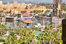 Paradise Pier Hotel / Disneyland Resort's Paradise Pier Hotel located in Anaheim, California.