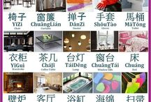 Things inside house-Chinese