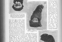 Dog & Grooming History / Historical dog and dog grooming images