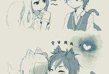 Couple cartoon/anime