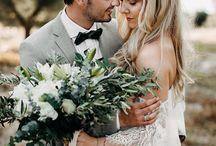 Boho Beach Weddings / Boho and bohemian beach weddings, ideas, wedding dress and decor inspiration