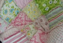 baby rag quilt  / by Jennifer Aguilar