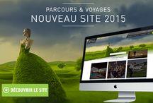 Nouveau site en ligne / [WEB] Venez découvrir le nouveau site de Parcours & Voyages :   www.parcours-voyages.fr dès maintenant ;)