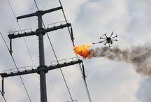 high voltage wires