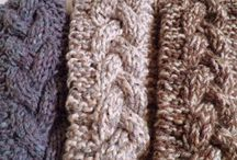 Knitted headbands / Knit a headband and embellish with a bow or a flower or keep it plain.