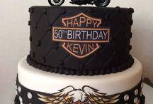 Harley Davidson Cake