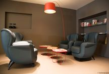 HERE WE ARE  / hall and reception design