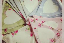 Chair Back Bunting / by Emma Bunting