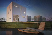 global architects | cube house / cube house designed for cube island in Utrecht