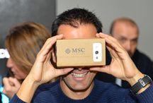 Virtual Reality / #MSC360VR Il primo catalogo immersivo nel mondo dei viaggi realizzato interamente da Axed Group S.p.A. per MSC Crociere. #realtà virtuale #vr #cardboard #smartphone #crociere