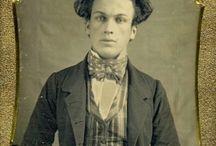 Men, Cravats, 1840-1860s
