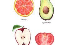 과일 일러스트레이셔ㄴ