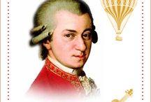 Mozart et son époque / Lapbook sur Mozart, de l'Association Carpe Diem