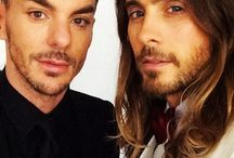30 Seconds to mars! Jared is hot