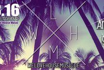 We Love House Music #13 / ★ We Love House Music Ostertanz ★ Samstag 26.03.16 | Sektor 7 Düsseldorf ★ Event: https://www.facebook.com/events/1684615218448206/