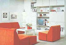 Mid Century Living Dining Room