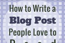 blogging tips and quides