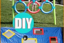 Couples Olympics Games and Party Ideas / Everything you need to host a amazing Couples Olympics party including food, games, awards, and more!