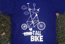Bicycle related T'shirts /  T's + design