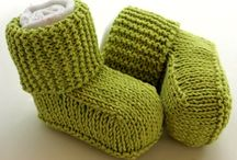 Knitting - Baby Shoes 1!