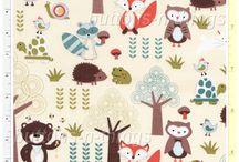 Fabric For Baby Bed / by Lauren Sasin