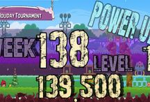 Angry Birds Week 138 power up / Angry Birds Friends Tournament Week 138  all Levels power up HighScore  , 3 star strategy High Scores no power up visit Facebook Page : https://www.facebook.com/pages/Angry-birds-for-play/473374282730255 blogger page : http://angrybirdsfriendstournaments.blogspot.com/ twitter : https://twitter.com/carloce_kiven