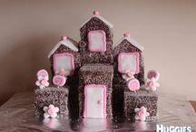 Lamington Birthday Cake