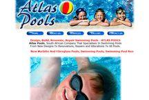 Atlas Pools Website Design
